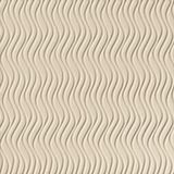10' Wide x 4' Long Wavation Pattern Almond Finish Vertical Thermoplastic Flexlam Wall Panel