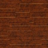 10' Wide x 4' Long Tetrus Pattern Moonstone Copper Finish Thermoplastic Flexlam Wall Panel