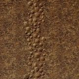 10' Wide x 4' Long Cascade Pattern Bronze Fantasy Finish Thermoplastic Flexlam Wall Panel