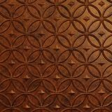 10' Wide x 4' Long Celestial Pattern Moonstone Copper Finish Thermoplastic Flexlam Wall Panel