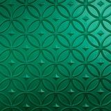 10' Wide x 4' Long Celestial Pattern Mirror Green Finish Thermoplastic Flexlam Wall Panel
