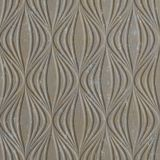 10' Wide x 4' Long Shallot Pattern Vintage Metal Finish Thermoplastic FlexLam Wall Panel