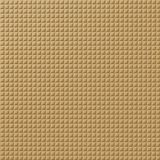 10' Wide x 4' Long Square 5 Pattern Argent Gold Finish Thermoplastic Flexlam Wall Panel