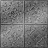 FlexLam 3D Wall Panel | 4ft W x 10ft H | Boston Pattern | Brushed Stainless Finish