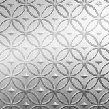 FlexLam 3D Wall Panel | 4ft W x 10ft H | Celestial Pattern | Mirror Finish