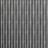 10' Wide x 4' Long Bamboo Pattern Crosshatch Silver Finish Thermoplastic Flexlam Wall Panel