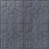 FlexLam 3D Wall Panel | 4ft W x 10ft H | Boston Pattern | Steel Strata Finish