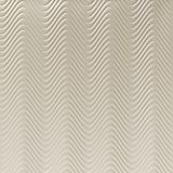 10' Wide x 4' Long Curves Pattern Winter White Finish Thermoplastic Flexlam Wall Panel