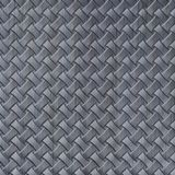 10' Wide x 4' Long Celtic Weave Pattern Steel Strata Finish Thermoplastic Flexlam Wall Panel