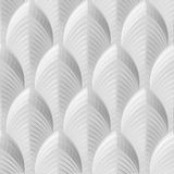 10' Wide x 4' Long South Beach Pattern White Finish Thermoplastic Flexlam Wall Panel