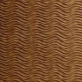 10' Wide x 4' Long Wavation Pattern Antique Bronze Finish Thermoplastic Flexlam Wall Panel