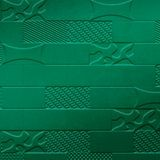 10' Wide x 4' Long Versa-Tile Pattern Mirror Green Finish Thermoplastic FlexLam Wall Panel
