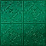 10' Wide x 4' Long Boston Pattern Mirror Green Finish Thermoplastic Flexlam Wall Panel