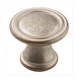 "1 3/16"" Diameter Knob Weathered Nickel Copper"