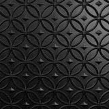 10' Wide x 4' Long Celestial Pattern Eccoflex Black Finish Thermoplastic Flexlam Wall Panel