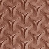 10' Wide x 4' Long Japanease Weave Pattern Argent Copper Finish Thermoplastic Flexlam Wall Panel