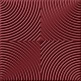 10' Wide x 4' Long Curvation Pattern Merlot Finish Thermoplastic Flexlam Wall Panel