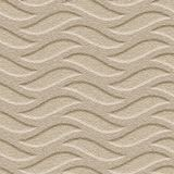 FlexLam 3D Wall Panel | 4ft W x 10ft H | Inferno Pattern | Eccoflex Tan Finish