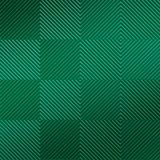 FlexLam 3D Wall Panel | 4ft W x 10ft H | Quadro Pattern | Mirror Green Finish
