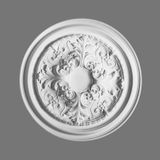 Orac Decor | High Density Polyurethane Ceiling Medallion | Primed White | 27-3/8in Dia
