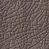 10' Wide x 4' Long Safari Pattern Bronze Strata Finish Thermoplastic FlexLam Wall Panel