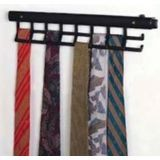 White Easy Does It Pull Out Tie Rack