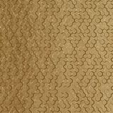 10' Wide x 4' Long Beehive Pattern Argent Gold Finish Thermoplastic Flexlam Wall Panel