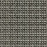 10' Wide x 4' Long Chocolate Square Pattern Galvanized Finish Thermoplastic Flexlam Wall Panel