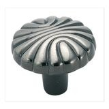 "1 1/4""  Diameter Knob Pewter"