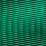 10' Wide x 4' Long Interlink Pattern Mirror Green Finish Thermoplastic Flexlam Wall Panel