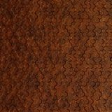 10' Wide x 4' Long Beehive Pattern Moonstone Copper Finish Thermoplastic Flexlam Wall Panel