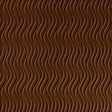 10' Wide x 4' Long Wavation Pattern Linen Chocolate Vertical Finish Thermoplastic Flexlam Wall Panel