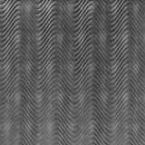 FlexLam 3D Wall Panel | 4ft W x 10ft H | Curves Pattern | Crosshatch Silver Finish