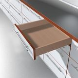 Tandem Edge Soft Close Undermount Drawer Slide 12""