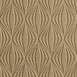 10' Wide x 4' Long Shallot Pattern Linen Beige Finish Thermoplastic Flexlam Wall Panel