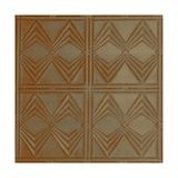Tin Plated Stamped Steel Ceiling Tile | Lay In | 2ft Sq | Gallery Finish