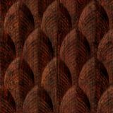 10' Wide x 4' Long South Beach Pattern African Cherry Finish Thermoplastic Flexlam Wall Panel