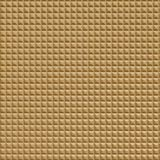 10' Wide x 4' Long Chocolate Square Pattern Argent Gold Finish Thermoplastic Flexlam Wall Panel