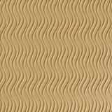 10' Wide x 4' Long Wavation Pattern Argent Gold Vertical Finish Thermoplastic Flexlam Wall Panel
