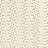 10' Wide x 4' Long Wavation Pattern Winter White Finish Thermoplastic Flexlam Wall Panel