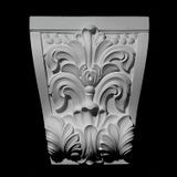 "11-3/4"" Wide x 15"" High Unfinished Polymer Resin Keystone Applique"