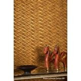 10' Wide x 4' Long Wavation Pattern American Walnut Finish Thermoplastic Flexlam Wall Panel