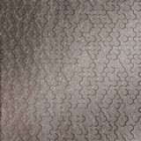 10' Wide x 4' Long Beehive Pattern Brushed Nickel Finish Thermoplastic Flexlam Wall Panel