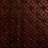 10' Wide x 4' Long Celestial Pattern African Cherry Finish Thermoplastic Flexlam Wall Panel