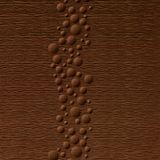 10' Wide x 4' Long Cascade Pattern Linen Chocolate Finish Thermoplastic Flexlam Wall Panel