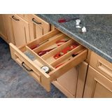 "Wood Utility Tray Insert 18.5"" X 22"" X 2 3/8"" Depth"