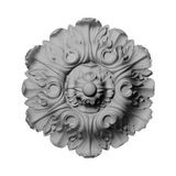 13-1/2in Dia | Unfinished Polymer Resin | Decorative Ceiling Medallion