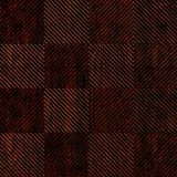 10' Wide x 4' Long Quadro Pattern African Cherry Finish Thermoplastic Flexlam Wall Panel