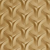 FlexLam 3D Wall Panel | 4ft W x 10ft H | Japanease Weave Pattern | Argent Gold Finish