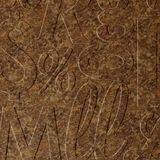 FlexLam 3D Wall Panel | 4ft W x 10ft H | Alphabet Soup Pattern | Bronze Fantasy Finish